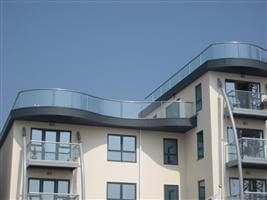 curved glass balconies bognor regis