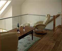Interior Glass Balustrade Isle of Lewis
