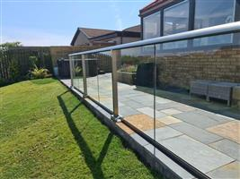 Glass Balustrade Handrails