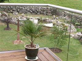 clear glass balustrade scotland