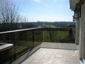Glass balustrade prices, starting from £199 + VAT per meter, and the many options are fully explained: Balcony 1 and Balcony 2 models, frameless and semi-frameless glass balustrades.