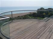 A comparison between Balconette's circular and aerofoil handrails