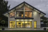 Scandia Hus in Felcourt West Sussex recently built a showhouse using Balcony Systems Glass Balustrading as well as an unusually wide Juliet Balcony