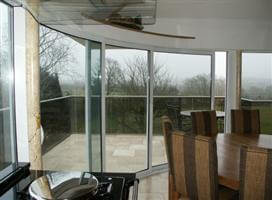 curved patio door Soulbury Buckinghamshire