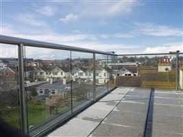 terrace glass balcony in bognor regis