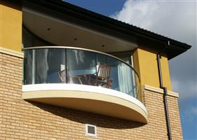 external curved balcony yorkshire