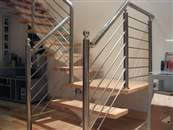 Stainless steel balustrades and handrails how to keep them clean, a step by step maintenance guide.