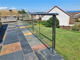 Glass Balustrade for Garden