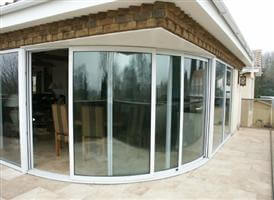 curved sliding doors Soulbury Buckinghamshire
