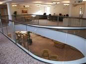 Glass Balustrades designed to meet the increased loads for public areas and places where people may congregate - Balcony Systems Solutions Ltd