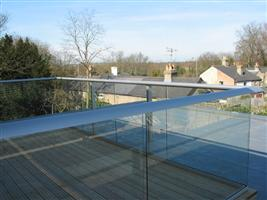 clear glass railings weston supermare (1)