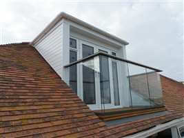 Glass Balustrade loft conversion in Dorset