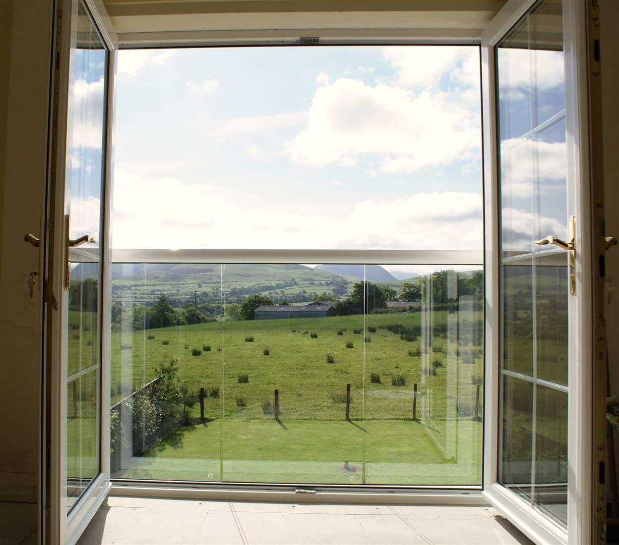 Французский стеклянный балкон. - окна и балконы - каталог ст.