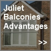 Juliet Balconies Advantages