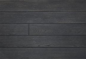 carbonised charred flat composite decking