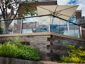 Glass Balustrade in Brighton adds crowning glory to the house
