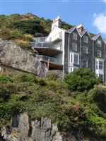 Glass Balustrades on seaside Snowdonia houses