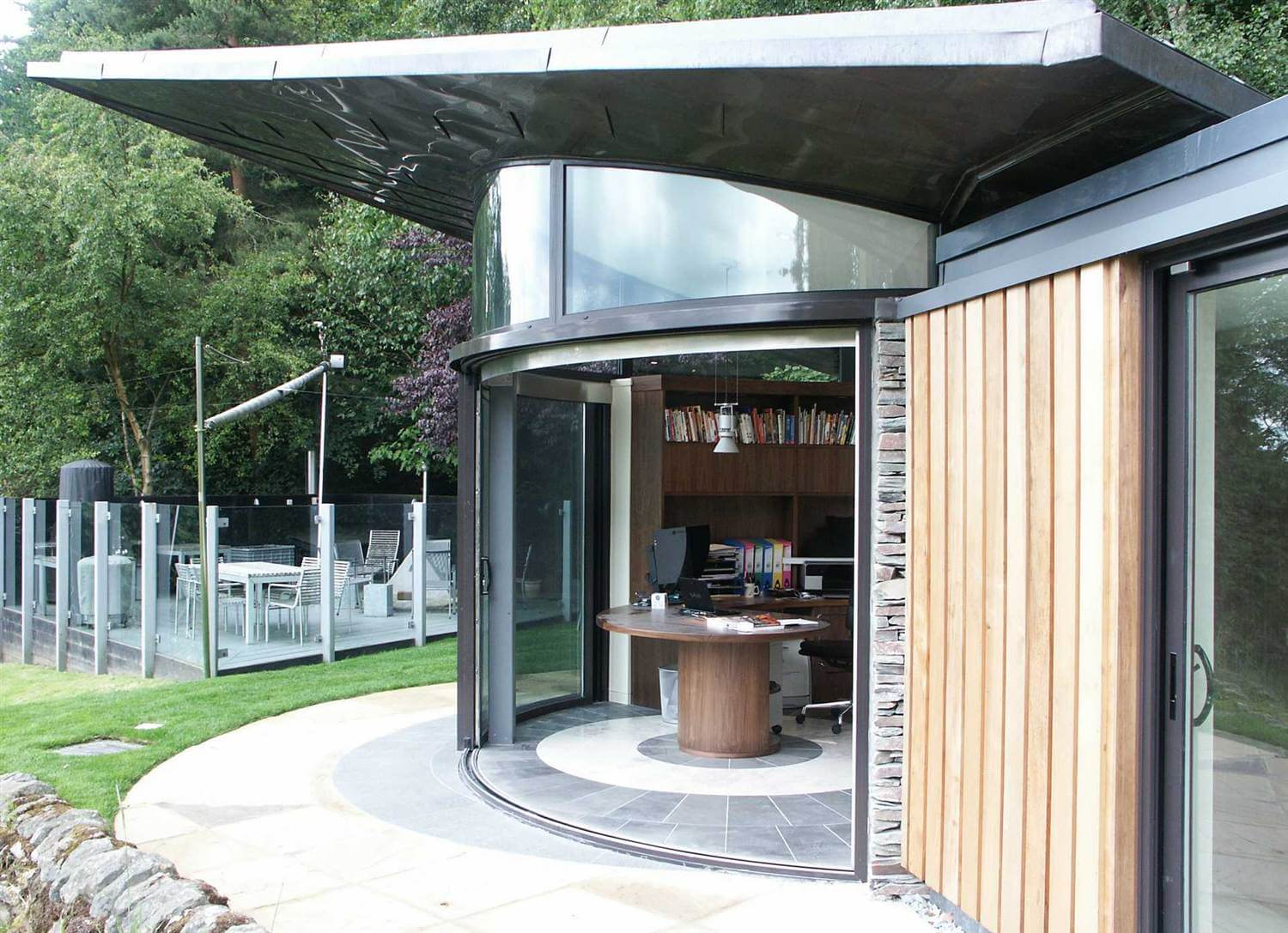 Curved glass sliding doors image gallery balcony systems 3 door curved glass sliding doors planetlyrics Image collections