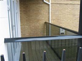 glass balcony by balcony systems ealing