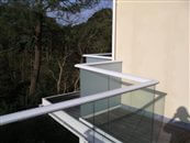 See which handrail colours are available for our glass balustrade systems. Designed for longevity in exposed and marine locations