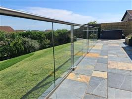 Glass Balustrade Installation