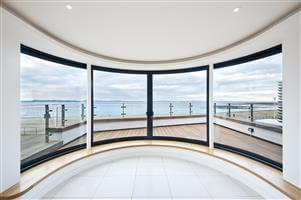 Curved Glass Sliding Doors and Windows - Musselburgh, Scotland