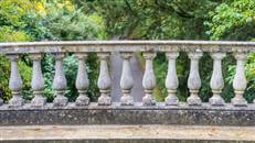 Balustrade systems and materials are explored in their historical and modern uses. While traditional stone can be too costly, other options are explored.