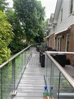 glass and aluminium balustrade systems