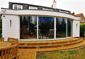 4 Curved Glass Sliding Patio Doors