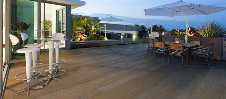 Smooth Enhanced Grain Composite Decking
