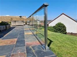 Glass Balustrade Side View