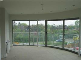 curved glass sliding doors cambridge