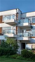 new refurbed glass balconies