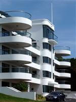 chateau valeuse curved balconies