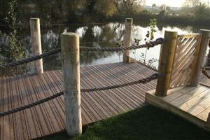 Composite decking non slip decking board finishes