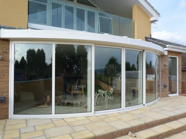 Curved Sliding Patio Doors Perfect Curved Glass Solutions