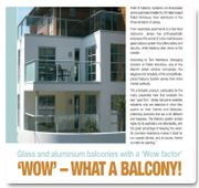 Glass Balconies success in Jersey