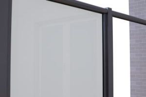 Replace the full length glazing bead on the side rails