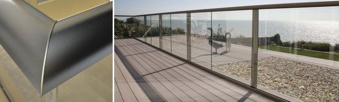 glass balustrade system 1