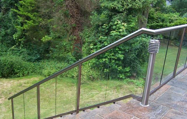 exterior stairs balustrade