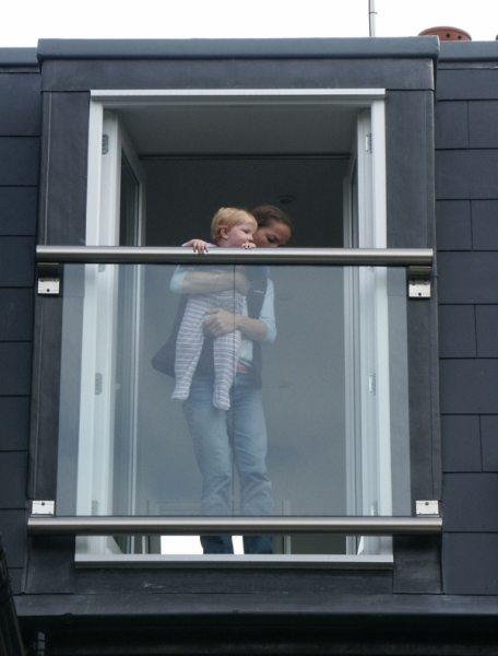 Loft balcony juliet balconies balcony systems for French juliet balcony