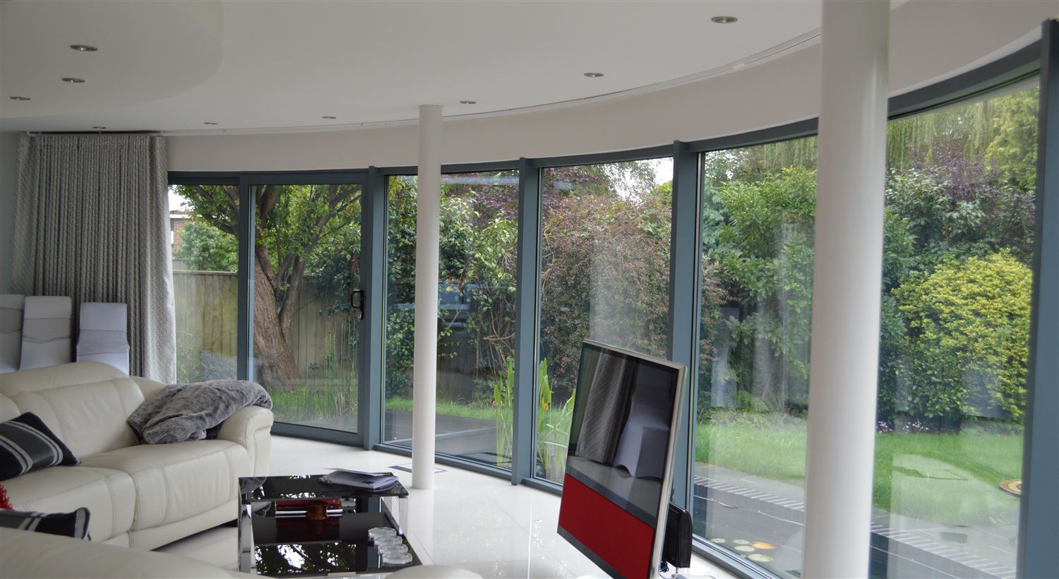 Curved Glass Sliding Doors