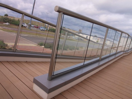 glass stair handrails 16113.1