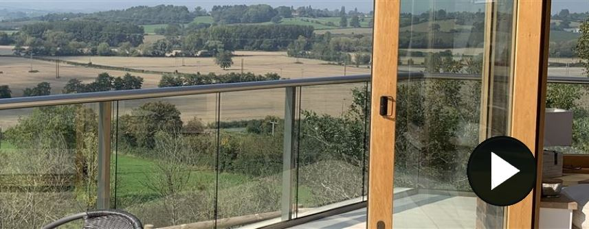 Glass Balustrade in Herefordshire