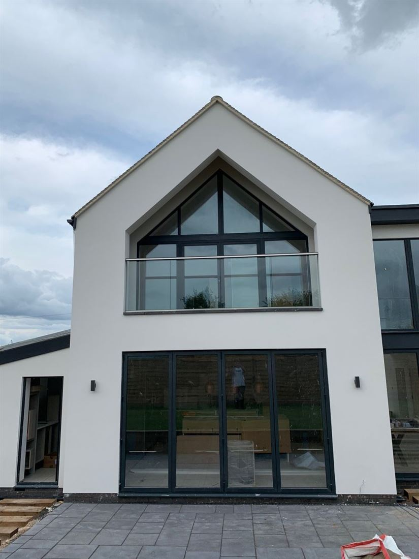 Glass Balustrade in new build