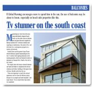 TV stunner on the south coast