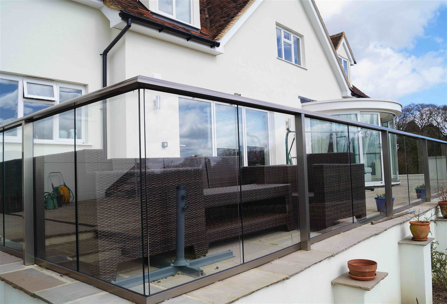 Glass Balustrade High Wickham