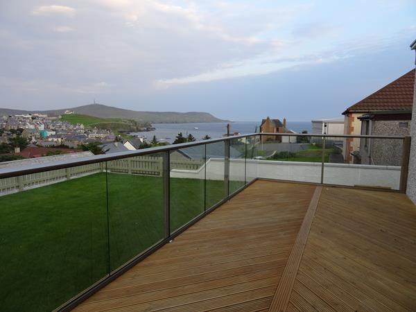 Glass Balustrade Shetland Islands