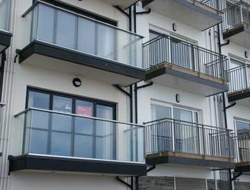Royal Chrome Balconies