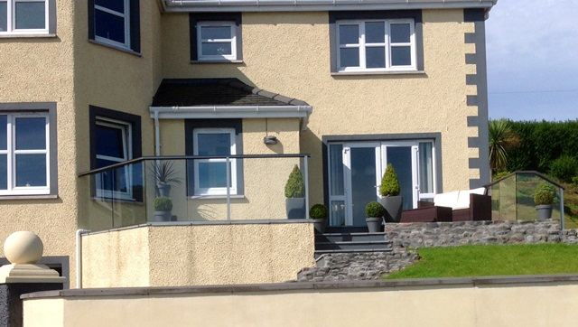 glass balustrade scotland front view